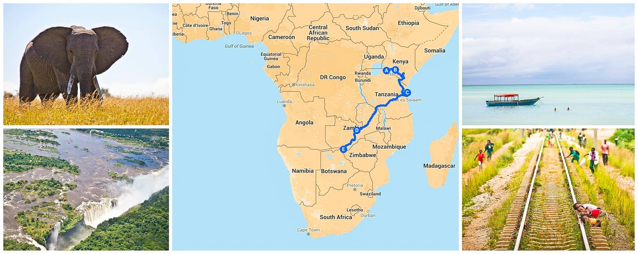 Foto Safari Masai Mara, Sansibar, Victoriafälle, Tansania